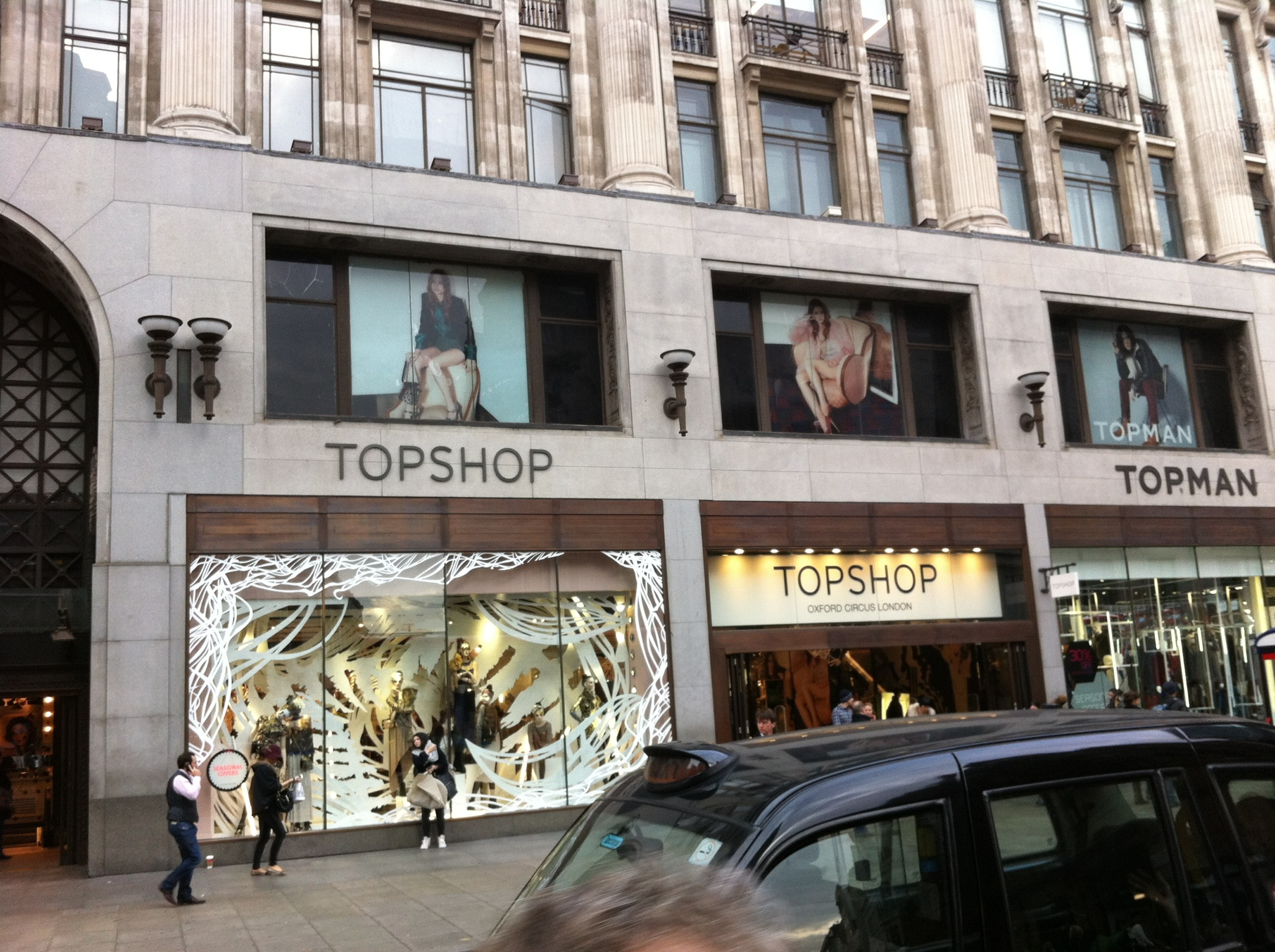Top Shop Londra