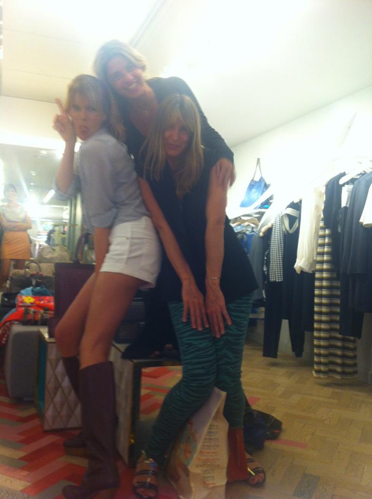 Con Monni e Kri,le charlie's angels un po' attempate :)