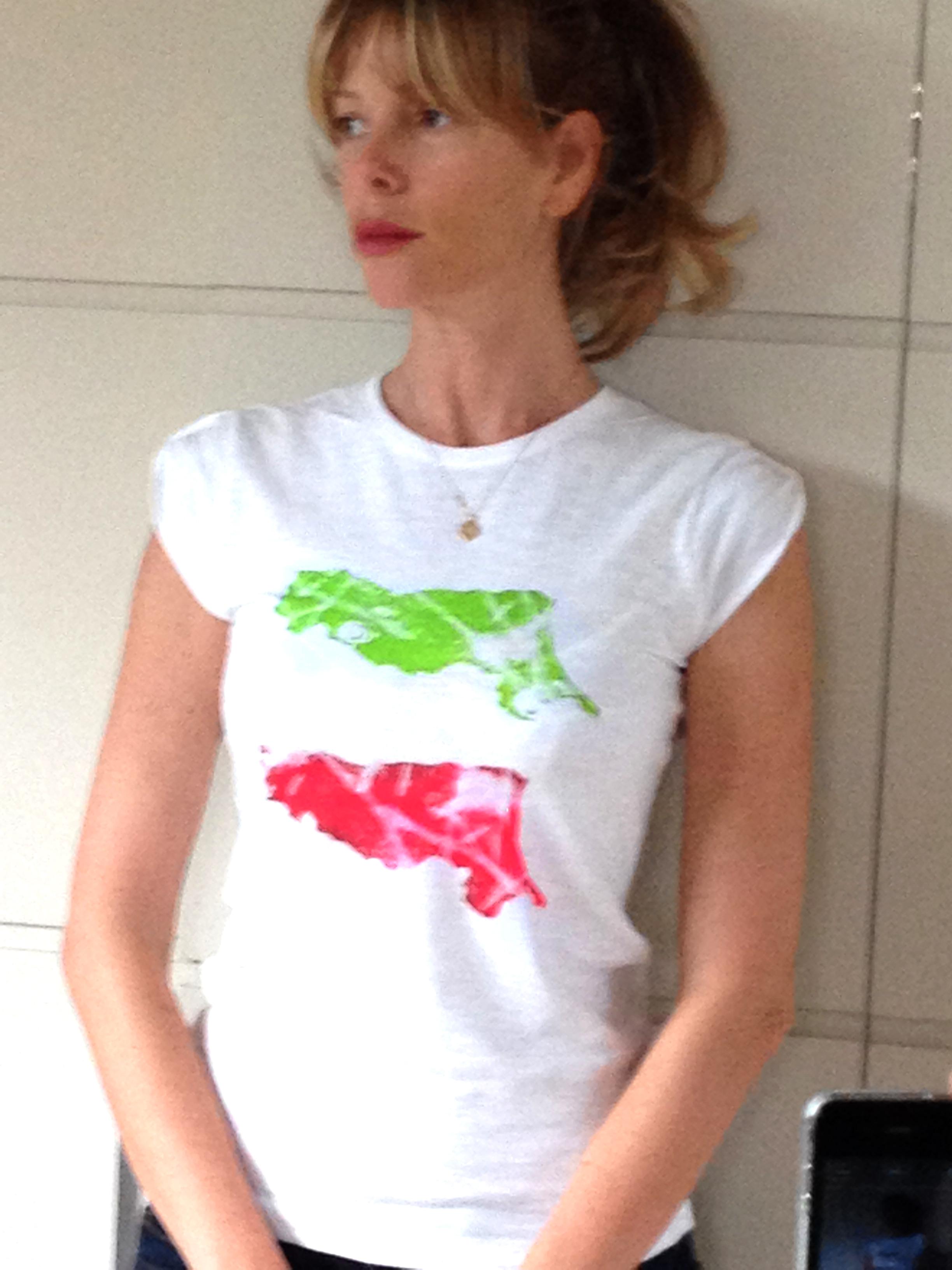 t-shirt per l'Emilia