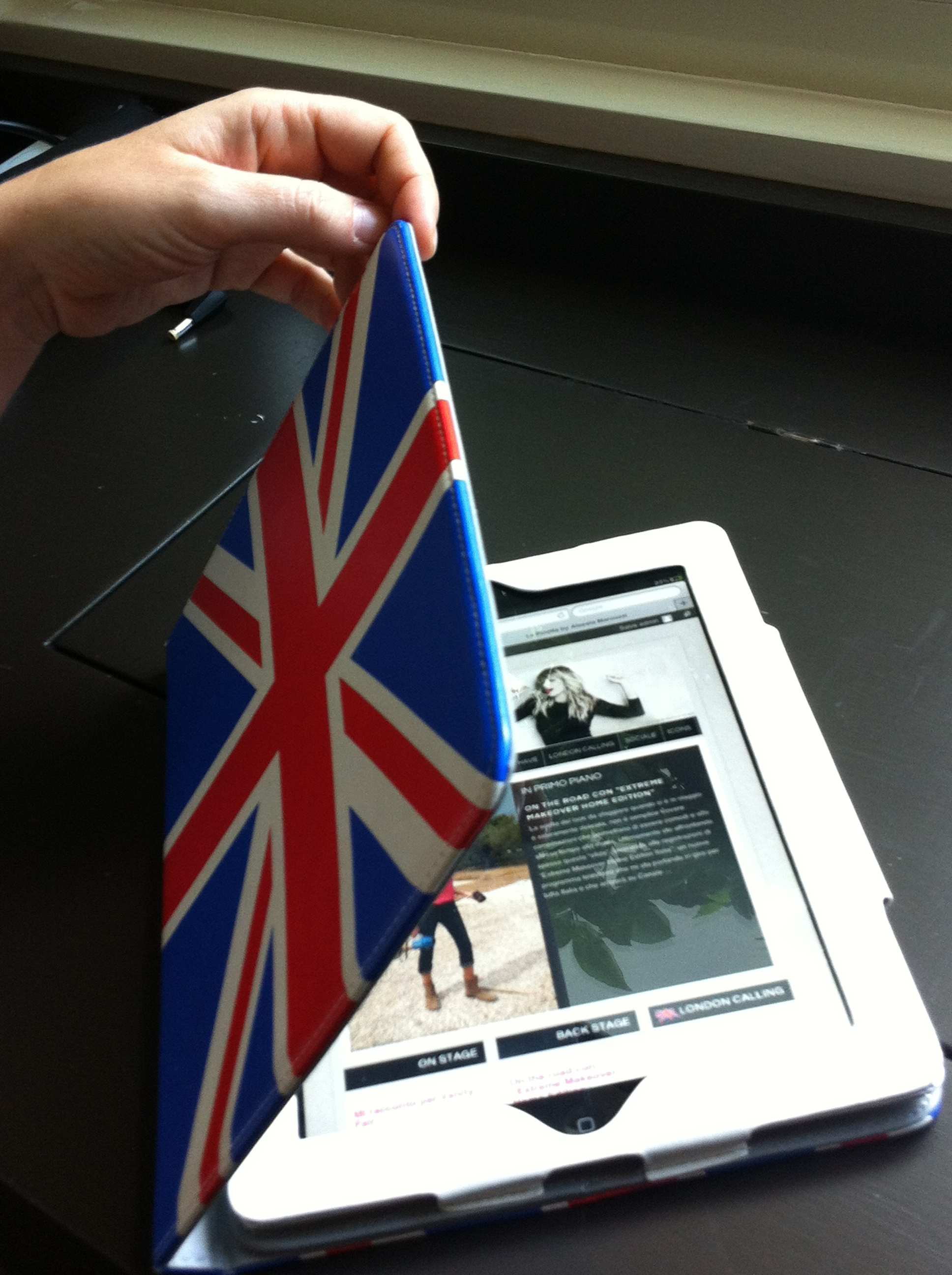 cover iPad London Style