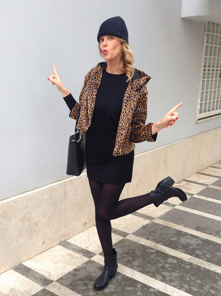 the latest eaf40 37bd5 Black leopard look   La Pinella