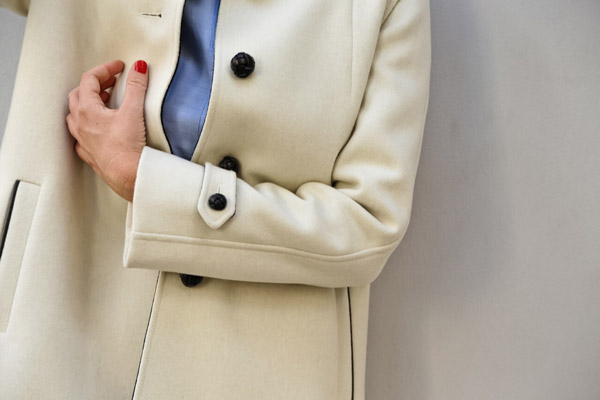 Cappottino Corto Bianco 11