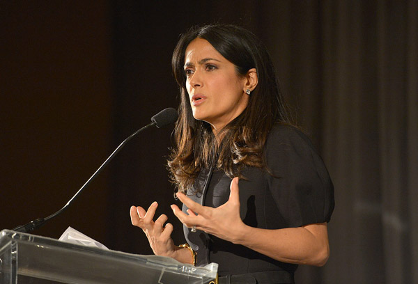 Celebrity-Charity-Pictures-Salma-Hayek-Chime-Change