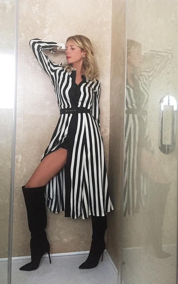 Alessia-abito-lungo-righe-11