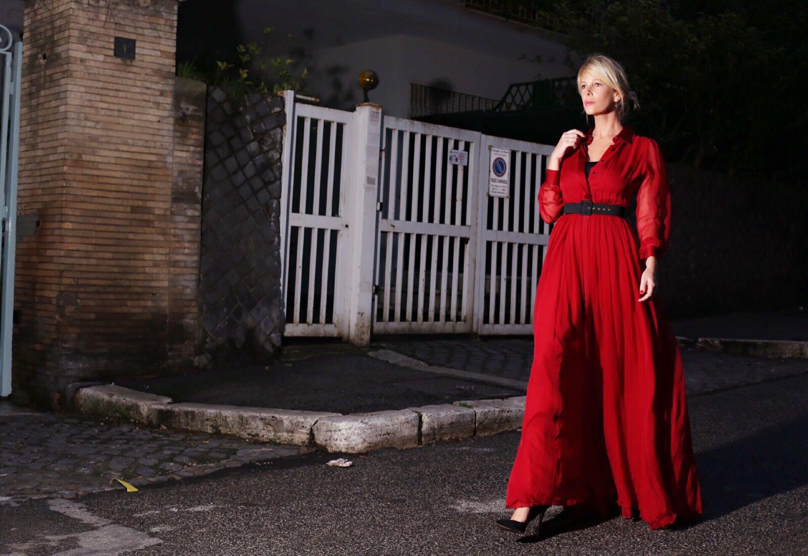 Abito Rosso - La Pinella - Alessia MArcuzzi