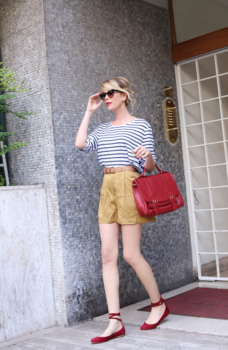 Summer Look - ballerine e shorts