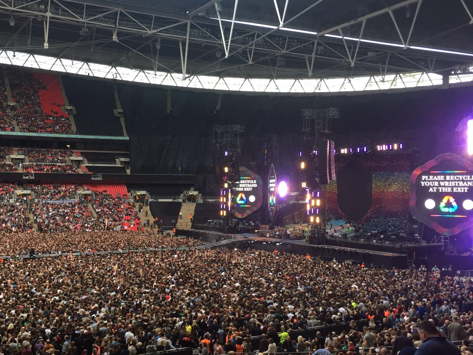 Al concerto dei Coldplay - La Pinella