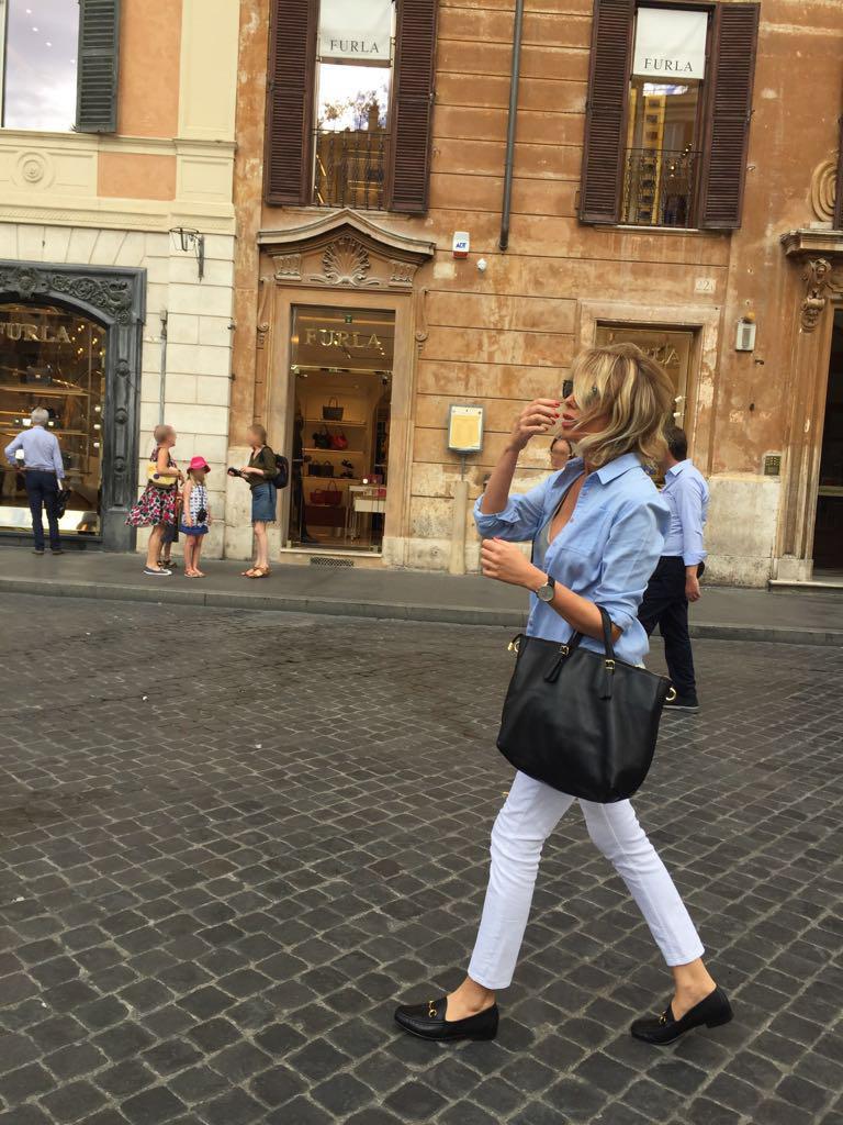 Nel centro storico di Roma